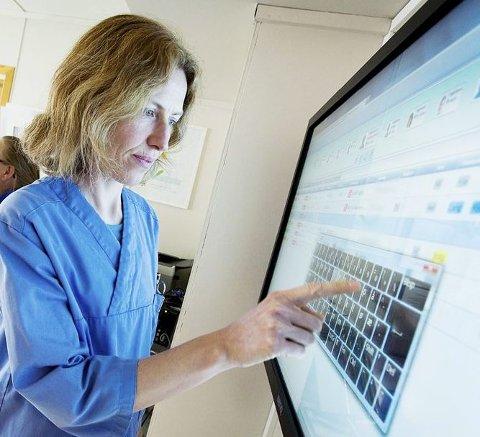 KAN SPORES: Ved hjelp av elektronisk utstyr kan den enkelte demente spores og finnes. foto: sintef