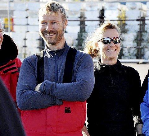 Klubbmester: Jan-Ivar Meldre (Grand Soleil 40 C) stakk av med tittelen klubbmester i seiling sist lørdag. Foto: Privat