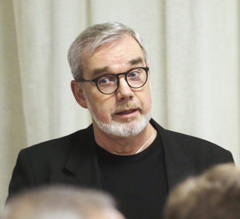 Mulighetsstudien: Næringssjef Knut Johansen informerte formannskapet om prosessen så langt. Foto: Pål Nordby