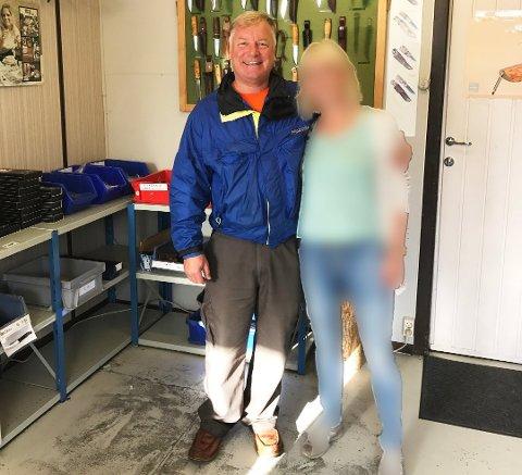 Mannen til venstre er framleis sakna, og blei sist observert i Rosendal, etter det politiet kjenner til.