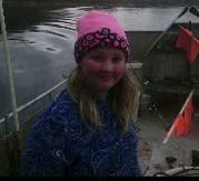 TRIVES: Michell trives på havet og utelukker ikke at hun blir fisker.