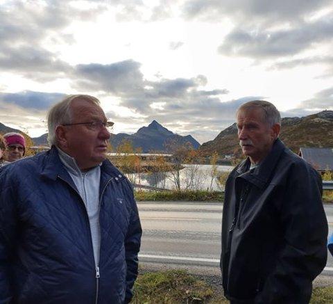 Almar Arntzen og Olav Angelsen.
