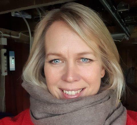 HJEMME: Elin Gran Weggesrud byr på seg selv i denne ukens 20 spørsmål-spalte.