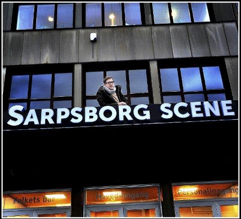 Halvor Titlestad på Sarpsborg scene, hvor han er Leder for team kulturutvikling.