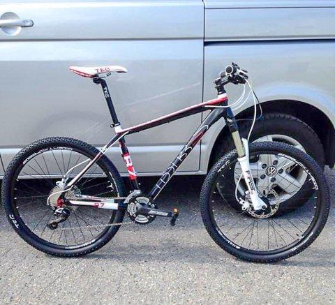 STJÅLET: Kristian Borger vil gjerne ha tilbake sykkelen sin.