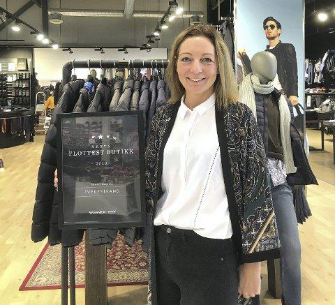 Kristin Songe Bakken har levert sterke resultater år etter år for Wagner-butikken på Grisen Storsenter. rett før hun gikk hjem fra jobb i dag, fikk hun vite at kjeden er konkurs. Arkivfoto
