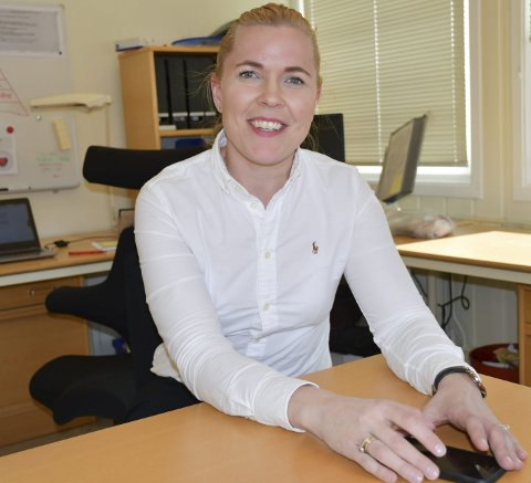 Enhetsleder: Maja Jørgensen forteller om et økende behov for habiliteringstjenester til barn og unge. Arkivfoto
