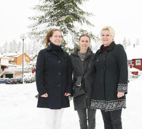 Ønsker flere ønsker: Tonje Berger-Ausland, Anette Strandmyr Fidje og Bente Solheim.