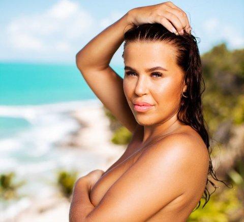 SJEKKER INN FOR ANDRE GANG: Melina gjør comeback i «Ex on the Beach». Serien hun blant annet vant en Gullruten for.