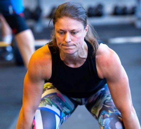 STERK: Vigdis Wicklund er en av fire haldensere som kvalifiserte seg for Quarter Finals under CrossFit Open.