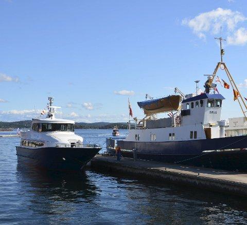 Blir vurdert:  Det skal gjøres en ny evaluering av hurtigbåten «Perlen».