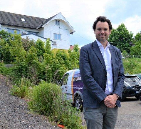 Anders Gregersen, adm.dir. i Neptune Properties, frykter nå nye forsinkelser for boligprosjektet Poppelhagen.