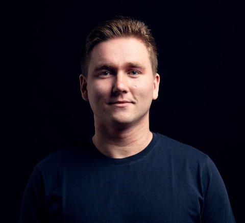 GRÜNDER: Svenn-Helge Vatne har sammen med en kompis fått støtte fra forskningsrådet.