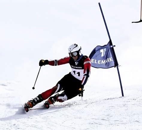 TELEMARK: Ådne Kristenstuen kom på tredje plass i verdenscuprennet på Rjukan. (Arkivbilde)