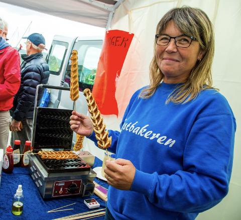 Monika Kristoffersen, Kystbakeren, er blant de lokale mataktørene som skal være med på markedsdagen på Nesna.