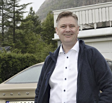 Jan Steinar Engeli Johansen hadde bursdag 12. juni. Dagen før kom meldingen om at Atlanterhavstunnelen blir gratis fra 1. juli.