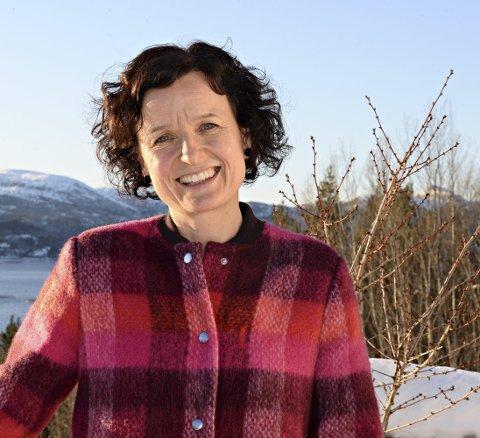 HJEMMEKJÆR: - Engasjementet kom da jeg flyttet hjem, sier Kristin Kvande Betten, som er styreleder i Halsa Utvikling.