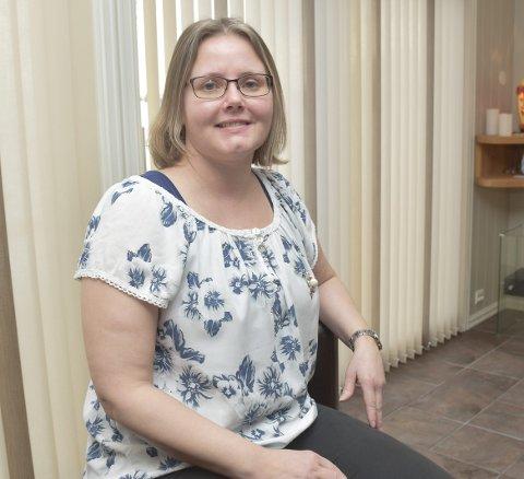 LIVSERFARING: Kine Skaget sier hun er en av de heldige som kan fungere hjemme og på jobb, selv om hun har sykdommen MS. Nå jobber hun 50 prosent som elektriker.