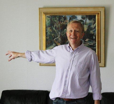 NY DIREKTØR PÅ VEI: Styreleder Vidar Ullenrød vil om ikke lenge kunne peke på museenes neste direktør.