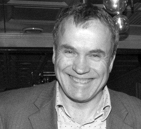 Trond Hansen Riise kunne koste på seg et smil etter at ledervervet i Møre og Romsdal venstre var i boks.