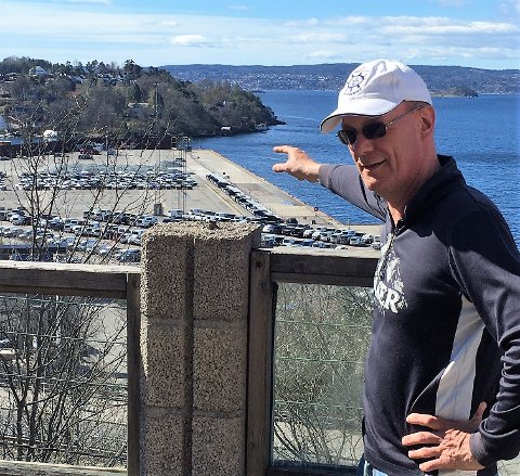 Øystein Larsen i Selskapet til Bekkelagets Vel mener det er på høy tid at Oslo Havn gir fra seg Ormsundkaia. - Her kan det for eksempel komme et badeanlegg, til glede for hele byens befolkning sier han.