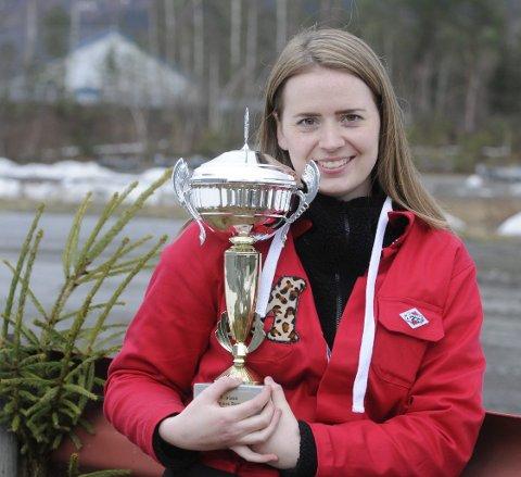 IMPONERTE: Mari Hoel imponerte med flott kjøring på Vinjarmoen. FOTO: ØYSTEIN RINGSVEEN