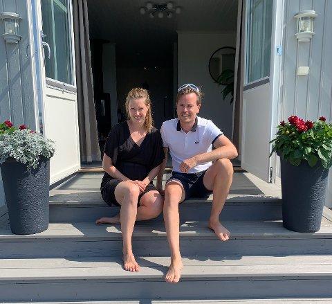 Dag Erik Kokkin og samboeren Helene.