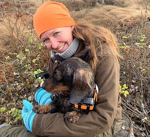 ELSKER DEGERNES-FJELLA: – Jeg er veldig glad i å benytte meg av mulighetene vi har i nærmiljøet, slik at Degernes-fjella står høyt i kurs hos meg, påpeker Anna-Cecilie Lunde når hun blir bedt om å dele et reisetips til leserne.