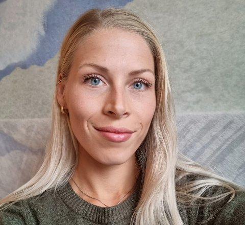 PÅ HOTELL: Ingvild Sibbern valgte en litt annerledes løsning da hun flyttet til Bodø for å studere.