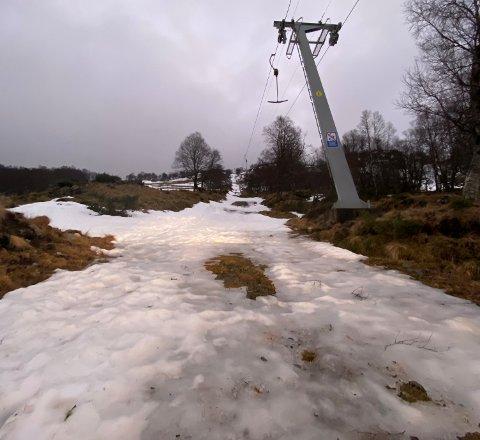 Det blir ikke aktivitet i vinterferien på Giljastølen.