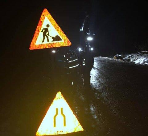 IKKE TRYGT: – Dette er ikke godt nok, innrømmer kommunalsjef Ingar Døhlen i Nes kommune. (Skjermdump fra privat video)