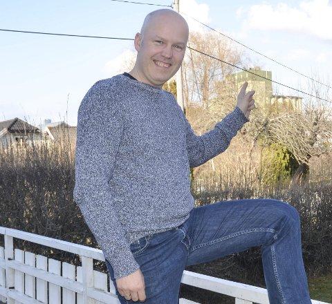 TRIVES SÅ LENGE HAN SER SILOEN: Ny hjemmebane for aurskogingen Helge Engen er Bjørkelangen.foto: roger ødegård
