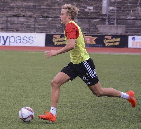 GOD START: Snorre Strand Nilsen skal trene med Raufoss og håper å få kontrakt med totenklubben. Foto: Frode Klevrud