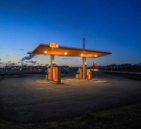 HYDROGENSTASJON: Uno-X har fått støtte til å bygge en hydrogenstasjon på Solberg i Ås.