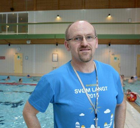 Erfaren: Badevakt og svømmetrener Jarle Tøgersen har vært med på hele den 15 år lange reisen til Moheia Bad.