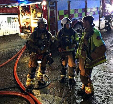 ÅTTE I MAI: Mannskaper fra Vestfold Interkommunale Brannvesen rykket ut til åtte bygningsbranner i forrige måned. Her fra en husbrann i Horten.