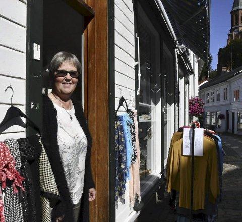 Kjærkomment tilbud: Det lille marked er en butikk og en møteplass for mennesker som opplever ensomhet eller andre utfordringer i livet sitt. Arkivfoto