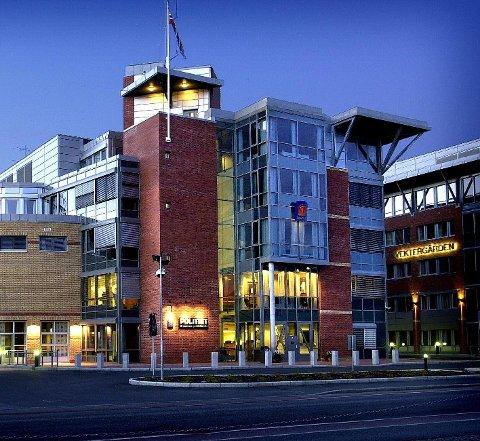SENTER: Politihuset i Drammen.