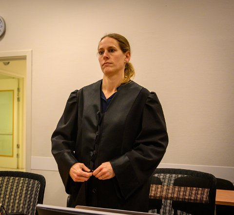 AKTOR: Politiadvokat Sigrid Frogner Larsen er aktor i saken mot lederne for Byhaven Bingo.