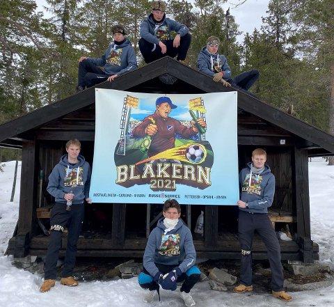Russe-temaet til de seks avgangselevene ved Lillehammer videregående skole avdeling sør er av den kreative sorten.
