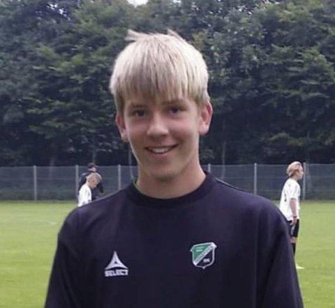 KRETSLAG: Sander Simensen fra Jevnaker spiller på kretslaget til Buskerud.