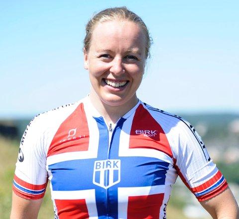 NM-BRONSE: Ingrid Bøe Jacobsen var fornøyd etter tredjeplassen lørdag.