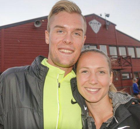 Klar for bryllup: Astrid Mangen Cederkvist og Filip Ingebrigtsen gifter seg i september neste år.