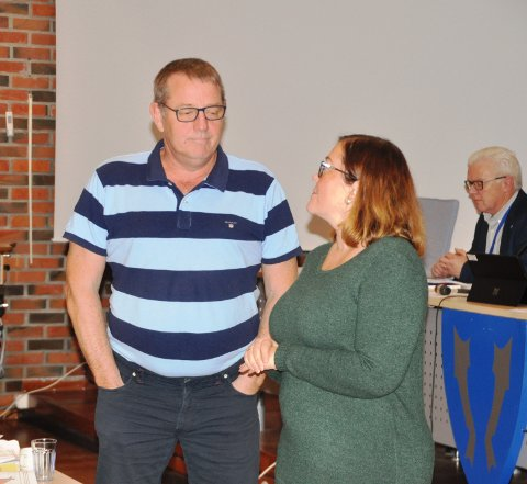 HABILITET: Anja Simonsen (Sp) erstattet Sten Angelsen da et ekstraordinært formannskapsmøte tok inn Hag i arealplanen.