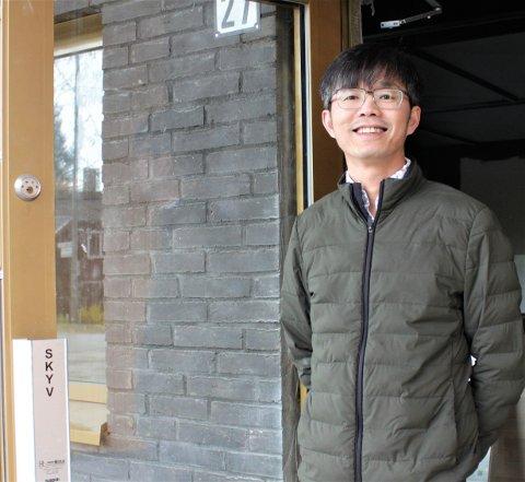 SPENT: Dinh Khac Oanh gleder seg til å åpne Sushi House Nordstrand torsdag denne uken.