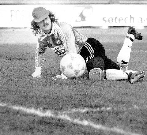SOLID KEEPER: Bjarte Flem er kanskje den mest fargerike spilleren som har spilt for klubben.