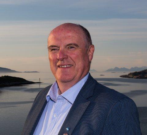 Dagfinn Arntsen er leder av Nordland KrF.