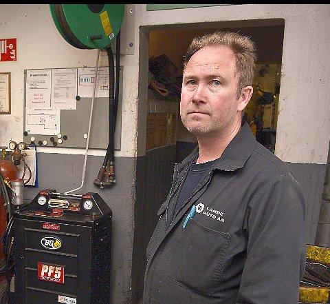 DAGLIG LEDER: Jon Arild Minge er daglig leder i Lande Auto AS Han eier også 40 prosent av aksjene i selskapet.