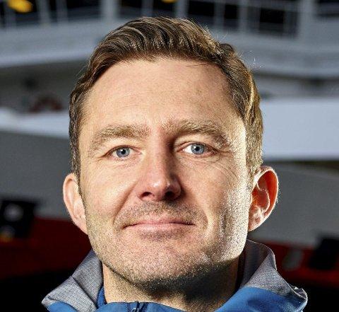 Prosjekt-leder: Stein Lillebo i Hurtigruten.