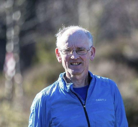 ULTRALØPAR: Eit mykje kortare løp enn ultraløpar Per Audun Heskestad vanlegvis spring. FOTO: Morten Sæle